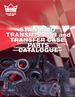 Standard transmission and transfer case parts catalog